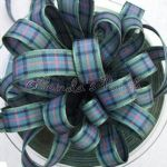 Berisfords Tartan Ribbon 16 Flower of Scotland